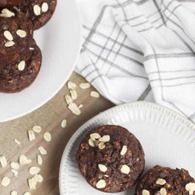 Chocolate Banana Muffins Recipe for leftover bananas