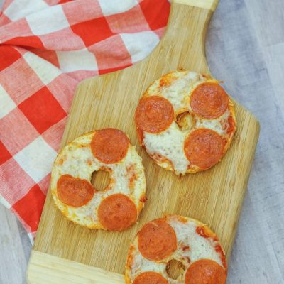 Pizza bagels recipe you will love