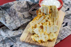 Halloween quesadillas - halloween food ideas for kids