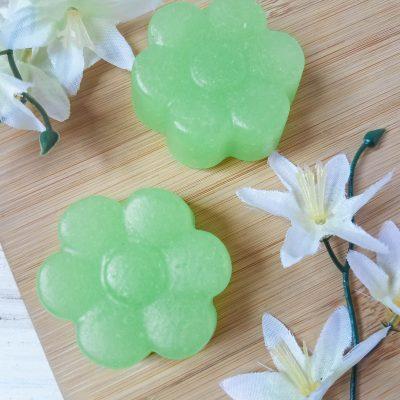 How to make pear scented sugar scrub bars