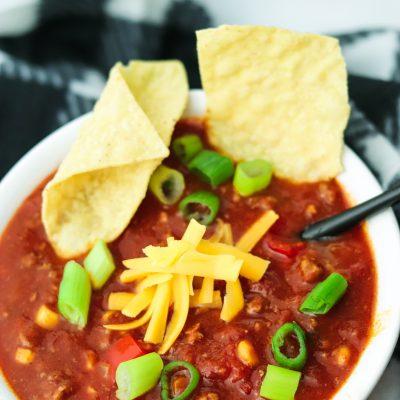 Easy chilli con carne recipe for winter months
