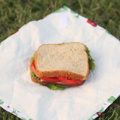 How to make your own reusable sandwich wrap