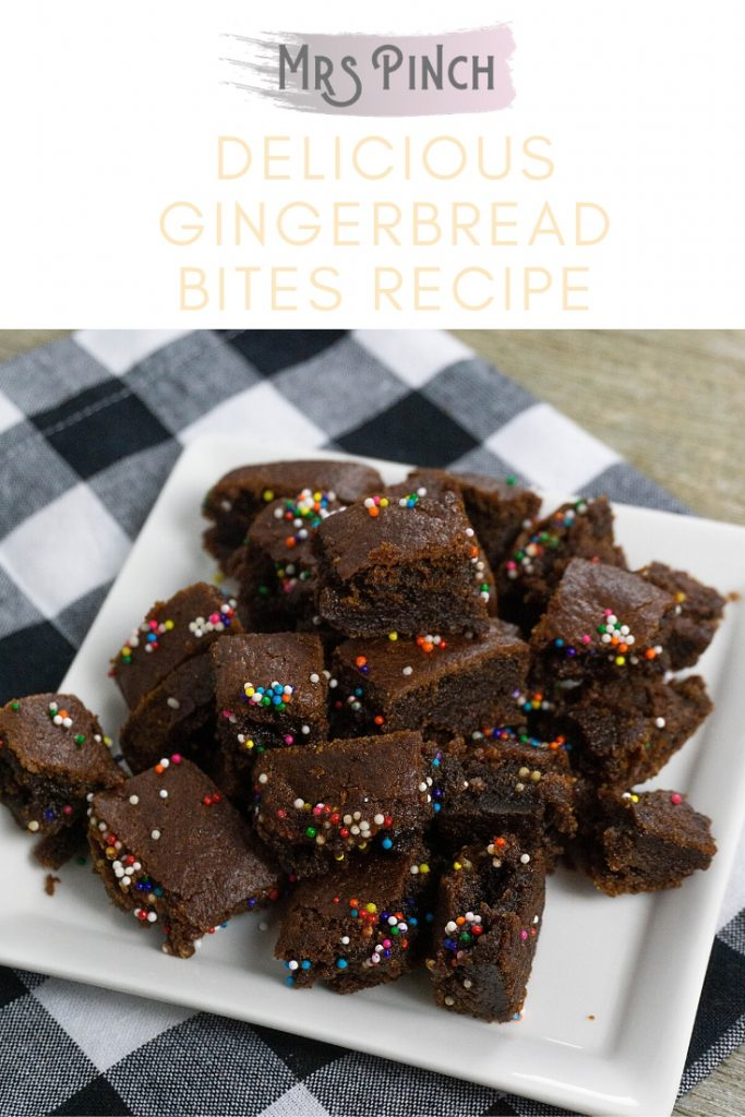 Delicious gingerbread bites recipe