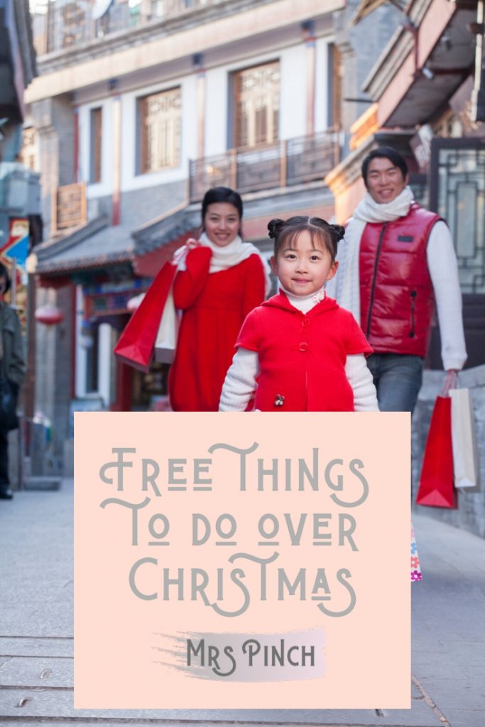 Free things to do over Christmas