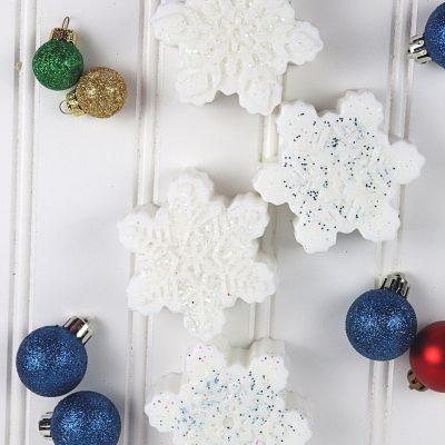 Sparkling Snowflake Soap Recipe