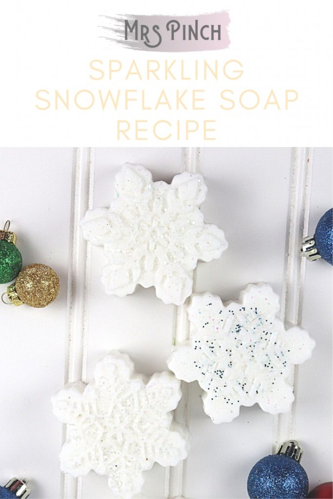 Sparkling Snowflake Soap Recipe