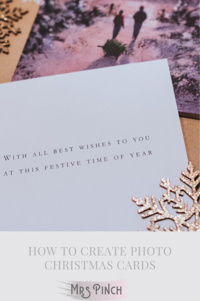 How to Create Photo Christmas Cards
