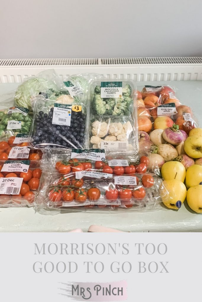 Morrison's Too Good To Go Box