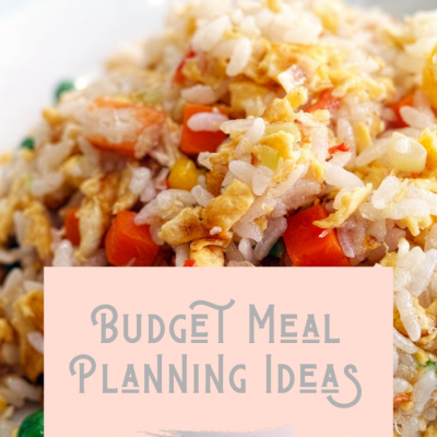 Budget Meal Planning Ideas