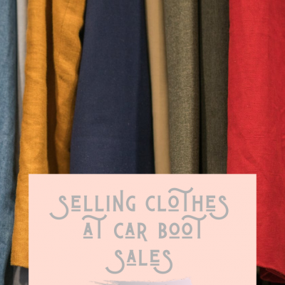 Selling Clothes At Car Boot Sales