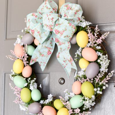 Easter Wreath Ideas for Easter Decor