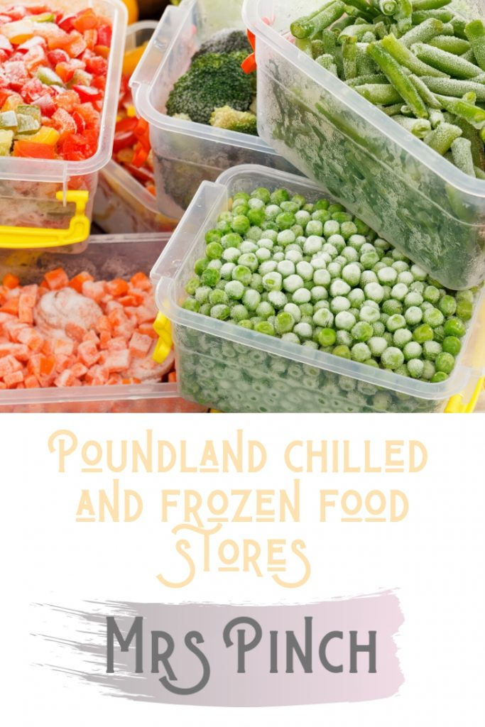 Poundland chilled and frozen food stores